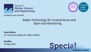 "Special isssue della rivista ""Journal of Marine Science and Engineering"""