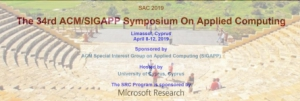 Call For Papers per l'ACM Symposium on Applied Computing (SAC) 2019 -  Information Access and Retrieval Track