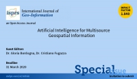 "Special Issue della Rivista ""International Journal of GeoInformation"""
